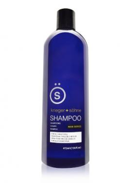 K + S Salon Quality Men's Shampoo - Tea Tree Oil Infused To Prevent Hair Loss, Dandruff, and Dry Scalp (16 oz Bottle)