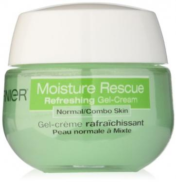 Garnier Moisture Rescue Gel-Cream for Normal/Combo Skin, 1.7 Fluid Ounce (Packaging May Vary)