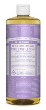 Dr. Bronner's Fair Trade & Organic Castile Liquid Soap - (Lavender, 32 oz)