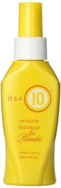 It's a 10 Blonde Miracle Leave in Treatment, 4 Ounce