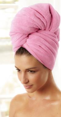 "NEW The Hair Towel by YogaRat! 100% microfiber. Super-large, super-soft, super-light, super-absorbent! 24"" x 44"""