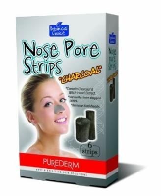 Purederm Charcoal Nose Pore Strips (6 Strips Per Pack) (1 Pack (6 Strips))