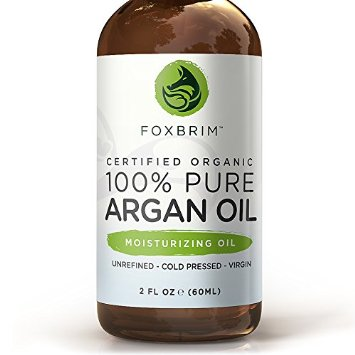 BEST ORGANIC Argan Oil for Hair, Face, Skin and Nails - 100% Pure Certified Organic Argan Oil - GUARANTEED to Provide Beautifully Healthy, Nutrient-Rich Moisture... Known as Liquid Gold for the HUGE list of Uses & Benefits - Anti Aging, Vitamin E - Cold Pressed, Unrefined, Virgin, Eco Cert & USDA Certified Organic - Use Alone or Infuse Moisturizers, Lotions, Serums and More! Purchase backed by Amazing Guarantee 2oz