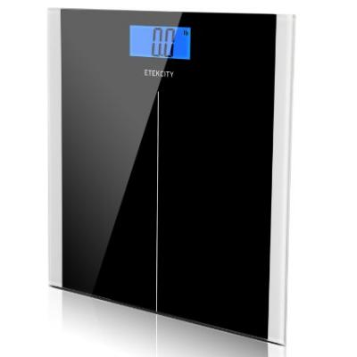 Etekcity Digital Body Weight Bathroom Scale, 400lb/180kg, Elegant Black