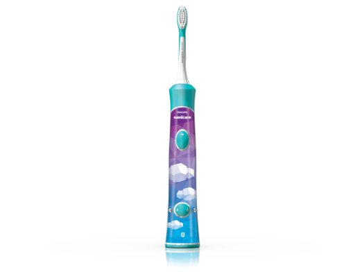 Philips Sonicare for Kids Connected Sonic Electric Rechargeable Toothbrush, HX6321/02