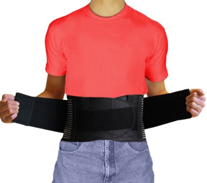 AidBrace Back Brace Support Belt - #1 Breathable Industrial Strength Lumbar Posture Support Belt - Relieves Lower Back Pain Naturally for Men and Women (3XL)