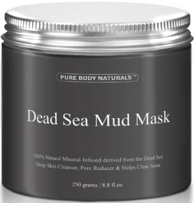 THE BEST Dead Sea Mud Mask, 250g/ 8.8 fl. oz. - Dead Sea Mud Mask Best for Facial Treatment, Minimizes Pores, Reduces Wrinkles, and Improves Overall Complexion - Dead Sea Minerals Help to Pull Toxins Out of the Skin - Facial Mask Provides Relief from Acne, Blackheads, Pimples, Acne Scars and Cellulite - Safe for Use on Face and Body - Premium Spa Quality Dead Sea Product - Skin Cleanser, Pore Reducer & Natural Moisturizer