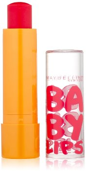 Maybelline New York Baby Lips Moisturizing Lip Balm, Cherry Me, 0.15 Ounce