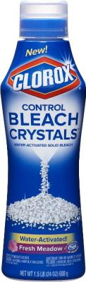 Clorox Control Bleach Crystals, Fresh Meadow, 24 Ounce