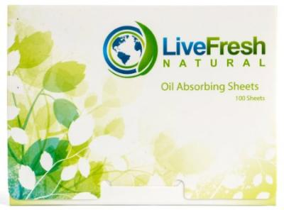 Blotting Paper | PREMIUM Oil Absorbing Sheets - Large 100 Pack - Natural Oil Blotting Sheets