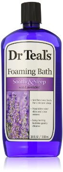 Dr. Teal's Foaming Bath, Lavender, 34 Fluid Ounce