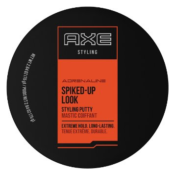 AXE Spiked Up Look Styling Putty, 2.64 Oz (Pack of 3)