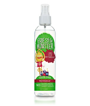 Fresh Monster Kids Hair Detangler, Watermelon (8oz) *Toxin-free*