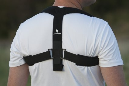 StabilityAce Upper Back Posture Corrector Brace and Clavicle Support for Fractures, Sprains, and Shoulders (Large)