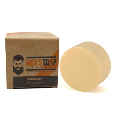 Shaving Soap Made with All Natural Ingredients Creates Rich Lather for a Smooth Shave. Includes Shea Butter and Coconut Oil to Protect & Moisturize the Skin. 3.8oz Shave Soap Refill Puck, Himalaya
