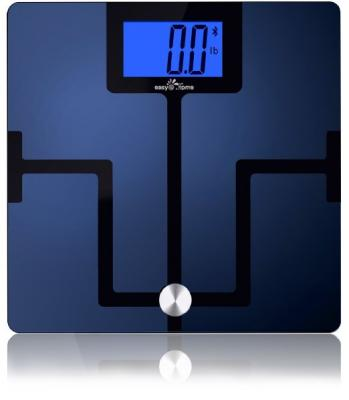 Easy@Home Digital Bluetooth Body Fat Smart Scale with App for iOS and Android Mobile Devices, CF351BT