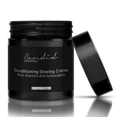 Best Shaving Cream, Organic & Natural Luxury Crème, 8 fl oz/10 oz net wt, Sensitive Skin Formula, Thick & Rich Skin Care Shave Lotion with Oils, Vitamins & Antioxidants To Moisturize.