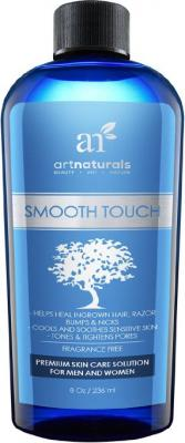 Art Naturals Smooth Touch Ingrown Hair Removal Serum - Best for Razor Burns, Unsightly Bumps & Redness from Shaving or Waxing - For Men, Women, Face, Body & Bikini Lines - More Effective then Tweezers