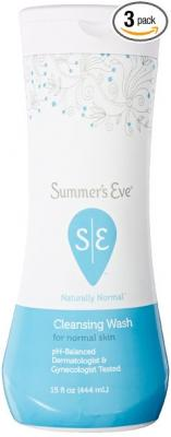 Summer's Eve Cleansing Wash, Naturally Normal, 15 Ounce (Pack of 3)