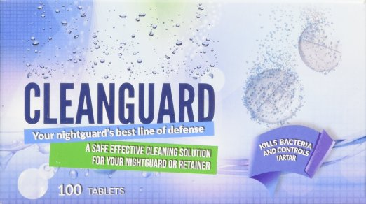 100 Tablet CleanGuard Nightguard Cleaner