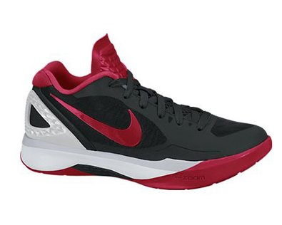 New Nike Women's Volley Zoom Hyperspike Black/Red 6