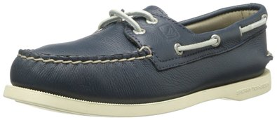 Sperry Top-Sider Women's Authentic Original 2-Eye Boat Shoe,Navy,5.5 M US