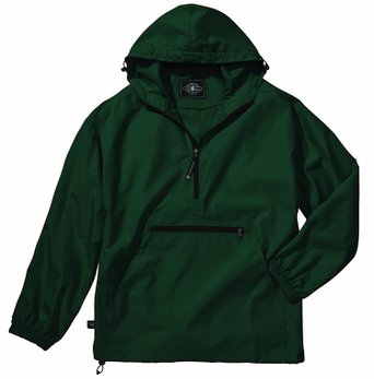 Women's Ultra Light Pack-N-Go Pullover - Forest Green, X-Small