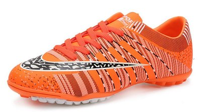 JiYe Pro-Sports Shoes Women's and Men's Jogging Walking Riding Running Shoes Cross-Training Racquet,Fashion Sneskers,Soccer shoes,Orange,5.5US-Women/4.5US-Men