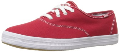 Keds Women's Champion Original Canvas Sneaker, Red,5 M US