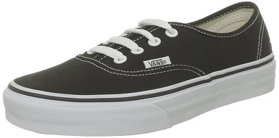 Vans VANS AUTHENTIC SKATE SHOES 8.5 (BLACK)