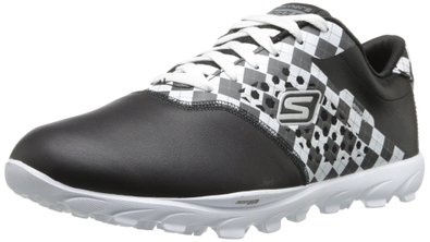 Skechers Performance Women's Go Golf Shoe,Black/White,5.5 M US