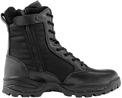 Maelstrom Women's TAC FORCE 8 Inch Military Tactical Duty Work Boot with Zipper, Black, 5 M US