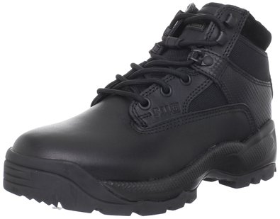 "5.11 Women's A.T.A.C. 6"" Side Zip Boot,Black,5 D(M) US"