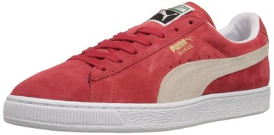 PUMA Suede Classic Sneaker,High Risk Red/White,9 M US Men's