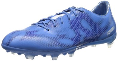 adidas Performance Women's F30 Firm-Ground W Soccer Cleat, Lucky Blue/Running White/Night Flash, 6 M US