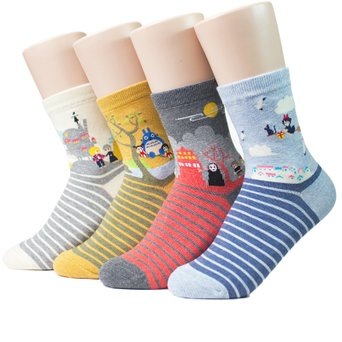 Socksense Japan Animation Series Women's Socks Made in Korea