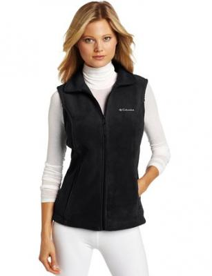 Columbia Women's Benton Springs Vest, Black, X-Small