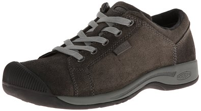 KEEN Women's Reisen Lace Shoe,Black,5 M US