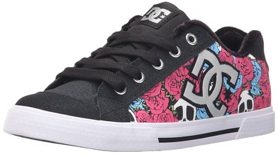 DC Women's Chelsea X TR Skate Shoe, Rose, 5 M US
