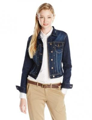 Unionbay Juniors Lucas Denim Jacket, Moonbeam, Small