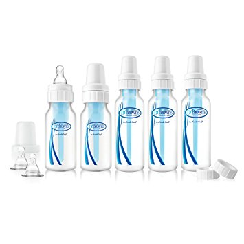 Dr. Brown's BPA Free Natural Flow Baby Bottle Feeding Set (Packaging may vary)