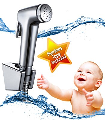 QTPIE Cloth Diaper Sprayer, 10 min Frustration Free Installation