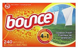 Bounce Outdoor Fresh Dryer Sheets and Fabric Softener, 240 Count