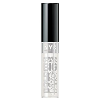 N.Y.C. New York Color Big Bold Plumping and Shine Lip Gloss, Big Is Beautiful, 0.39 Fluid Ounce
