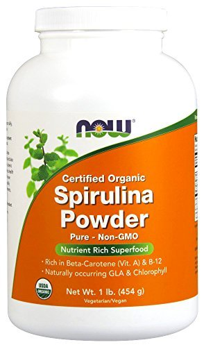 Now Foods, ORGANIC SPIRULINA POWDER, 1LB