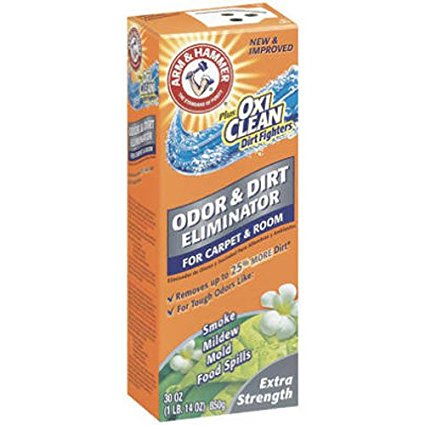 Arm & Hammer Extra Strength Carpet Odor Eliminator, 30 Oz