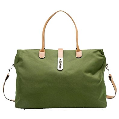 Oversized Tosca Tote Handbag (Hunter Green)