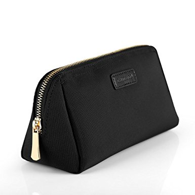 CHICECO Handy Cosmetic Pouch Clutch Makeup Bag - Black