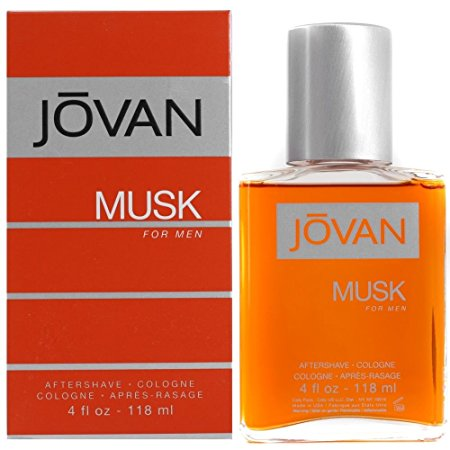 Jovan Musk By Jovan For Men. Aftershave Cologne 4-Ounces