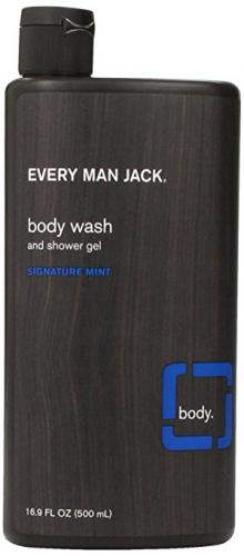 Every Man Jack Body Wash, Signature Mint, 16.9 Fluid Ounce